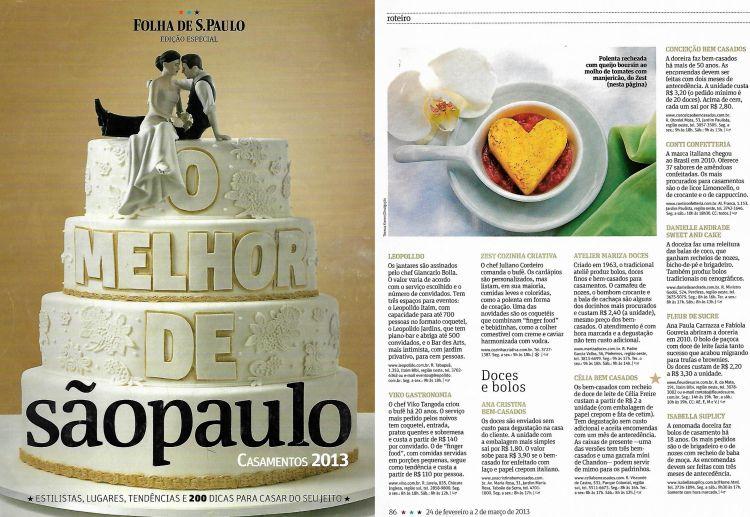 Celia bem casados - Revista da Folha 2012