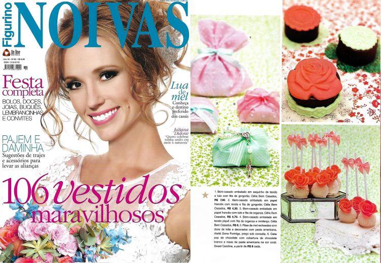 Celia Bem-Casados - Revista Figurino Noivas