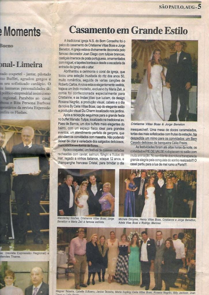 Celia Bem-Casados - Sunday News