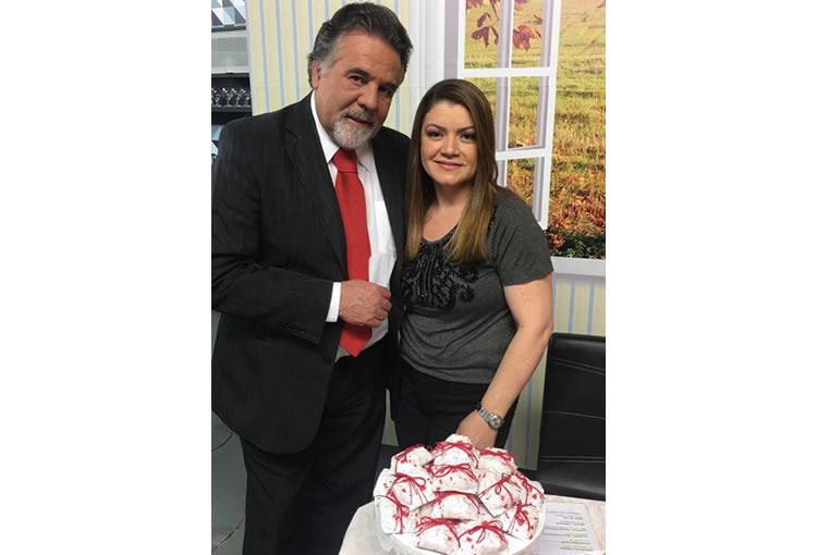 Celia Bem Casados - Programa A Tarde é Show